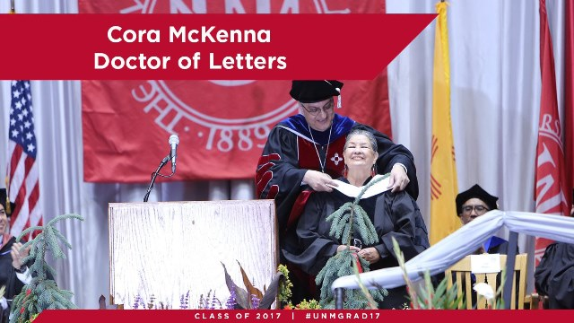 Cora Mckenna Doctor of Letters